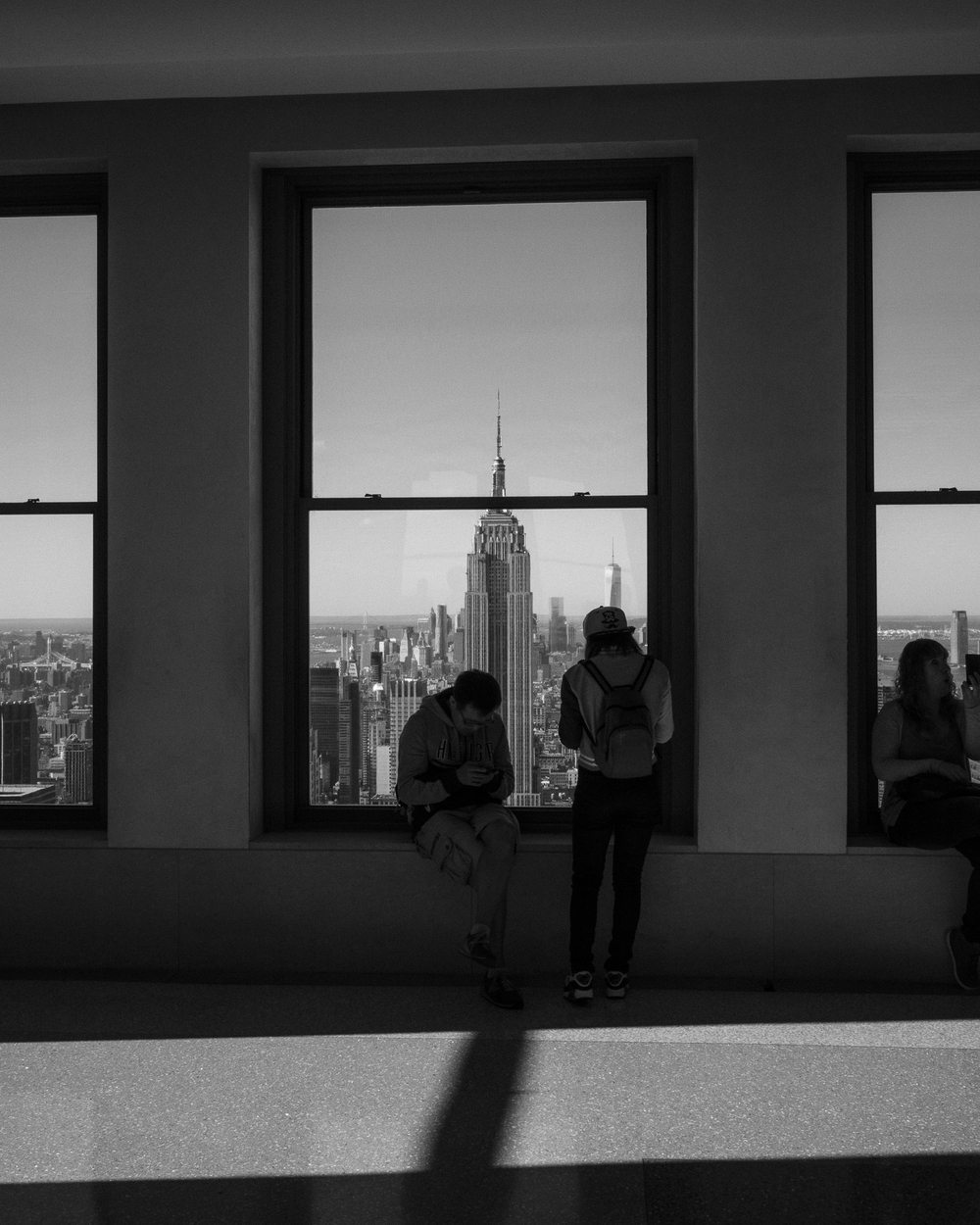 Viewing the City, Top of the Rock, Manhattan
