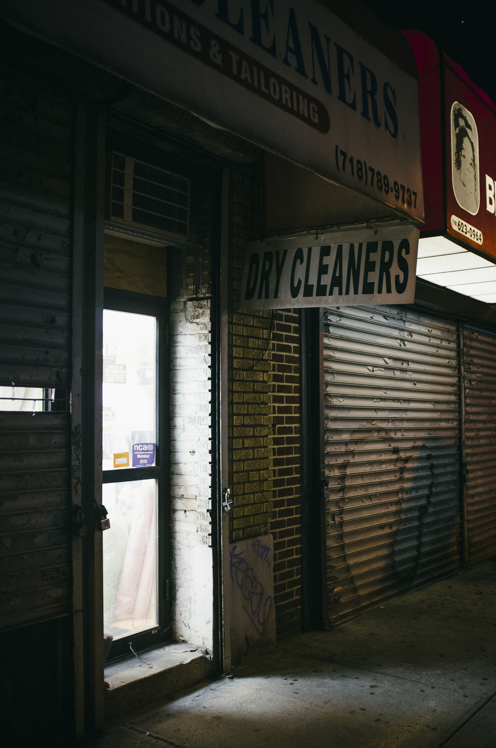 Dry Cleaners, Clinton Hill, Brooklyn
