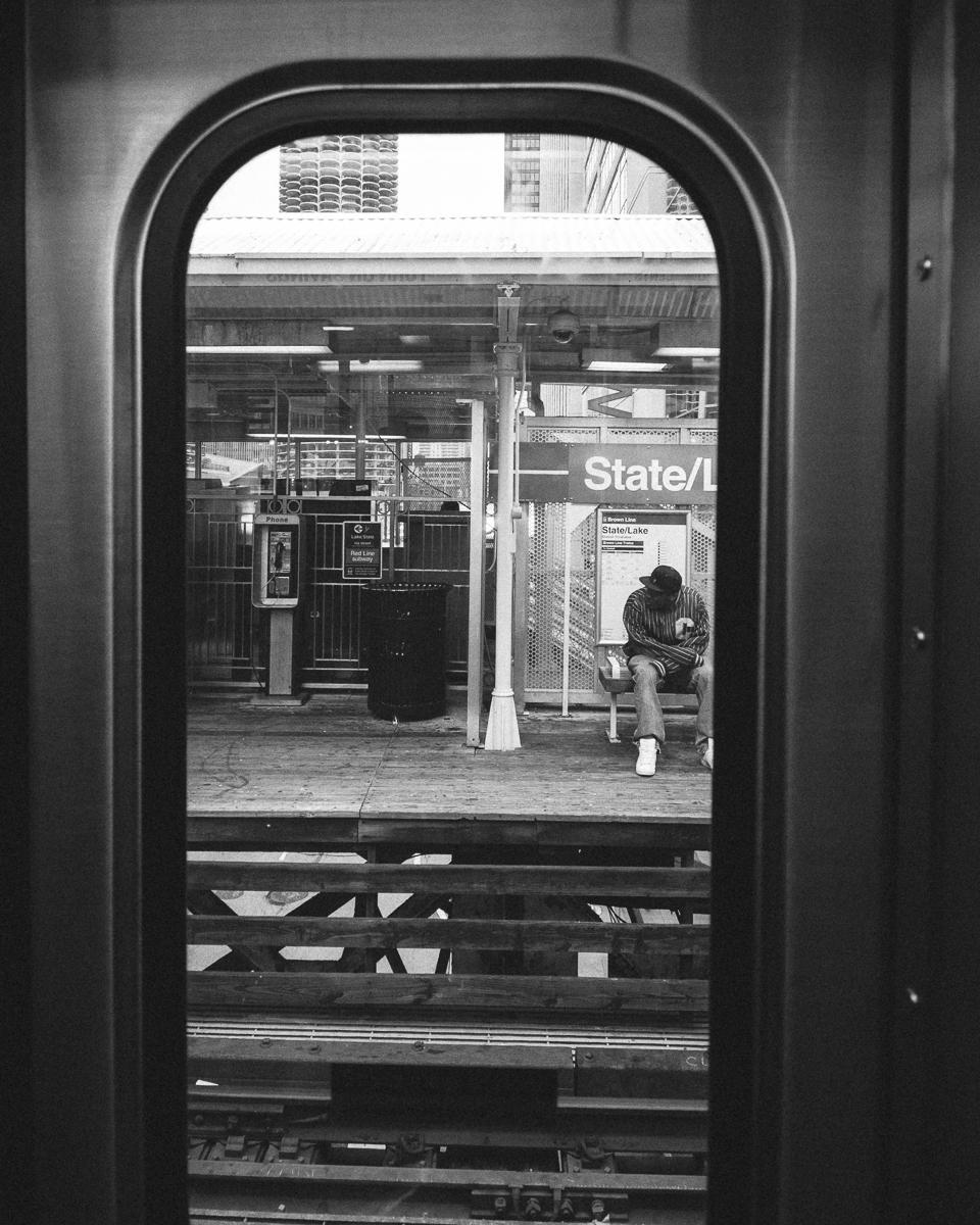 State/Lake Platform, The Loop, Chicago; November 2013