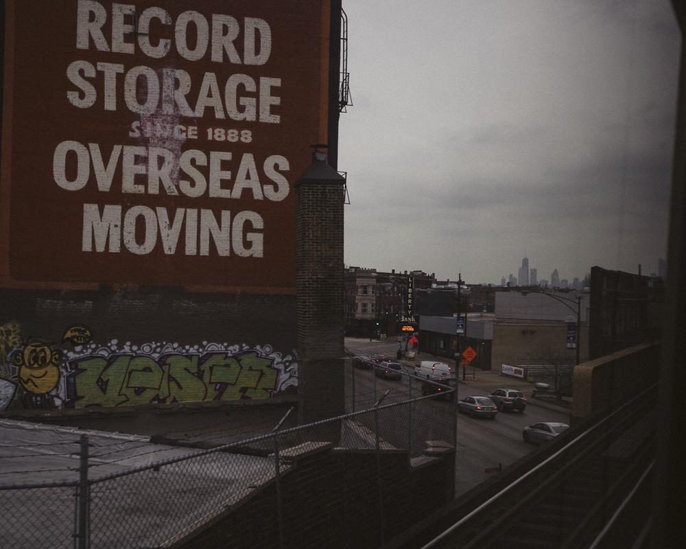 Blue Line, Chicago; November 2013
