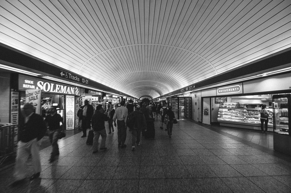 Penn Station, Manhattan; September 2014