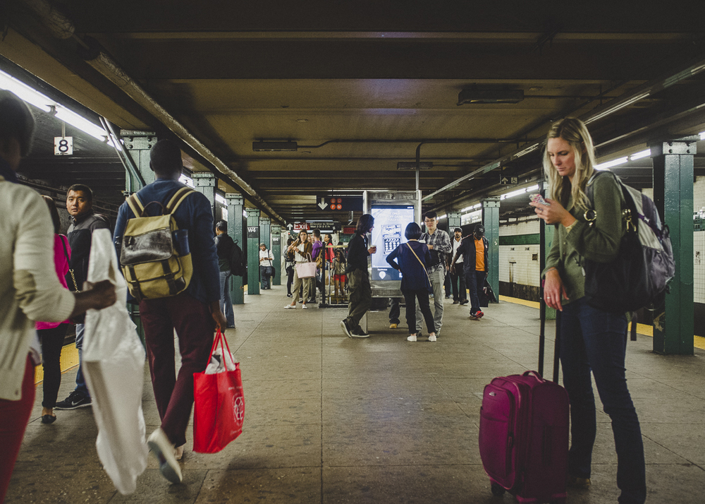 West 4th Street Platform, Chelsea, Manhattan;September 2014