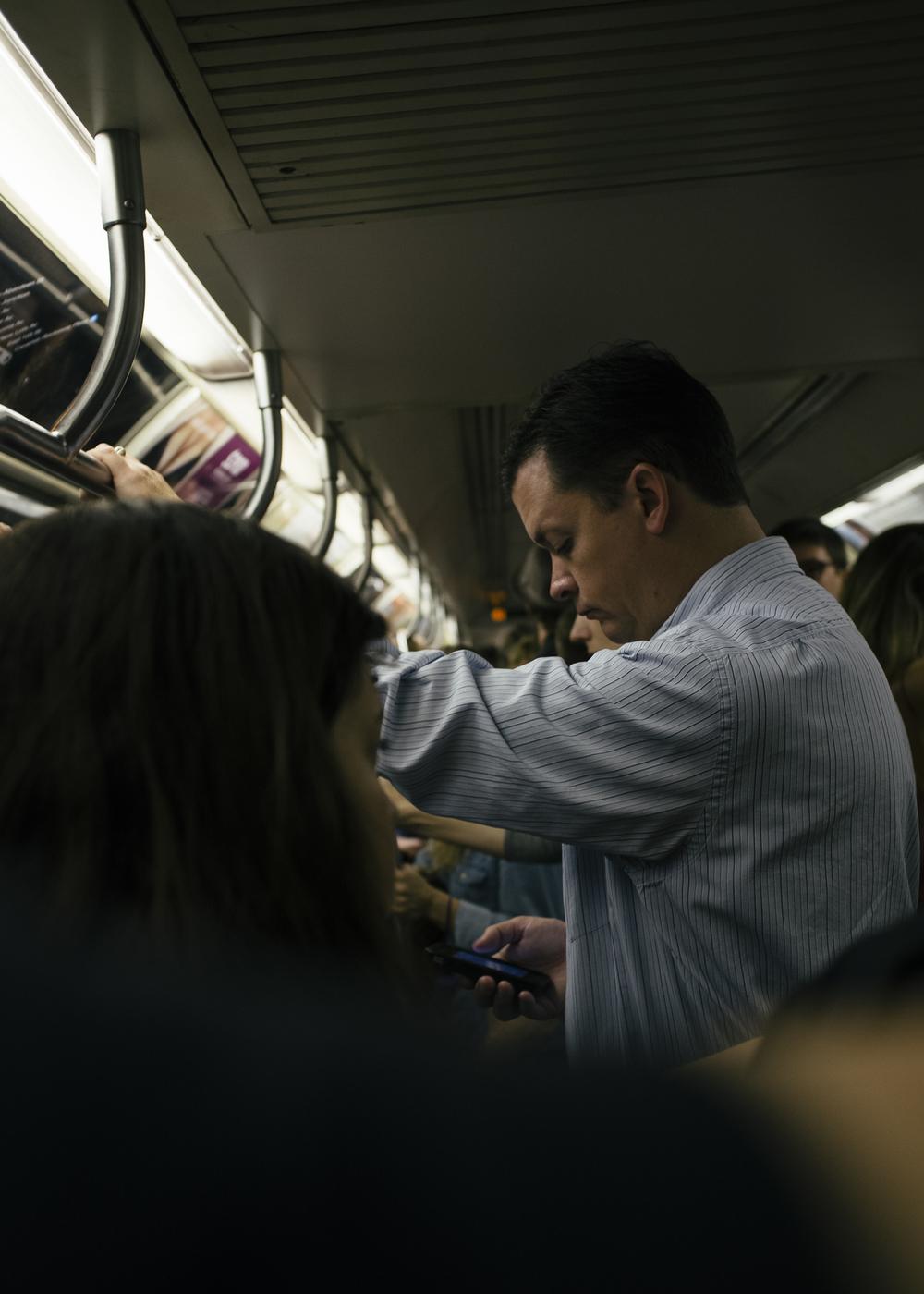 L Train, Manhattan; September 2014