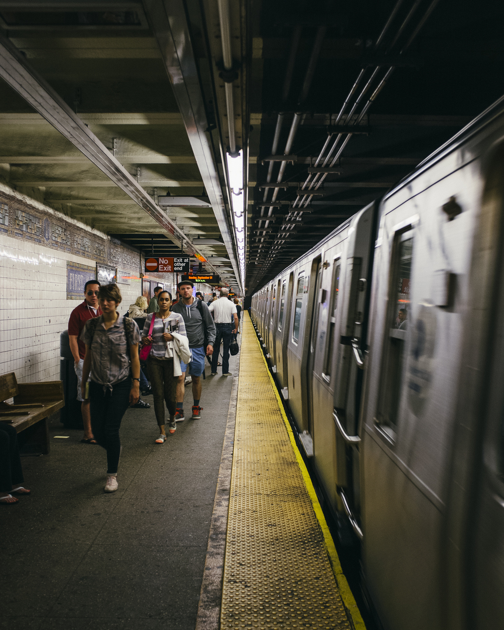 1st Avenue Station, East Village, Manhattan;September 2014