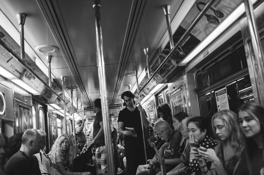 Brooklyn Bound 4 Train;September 2014