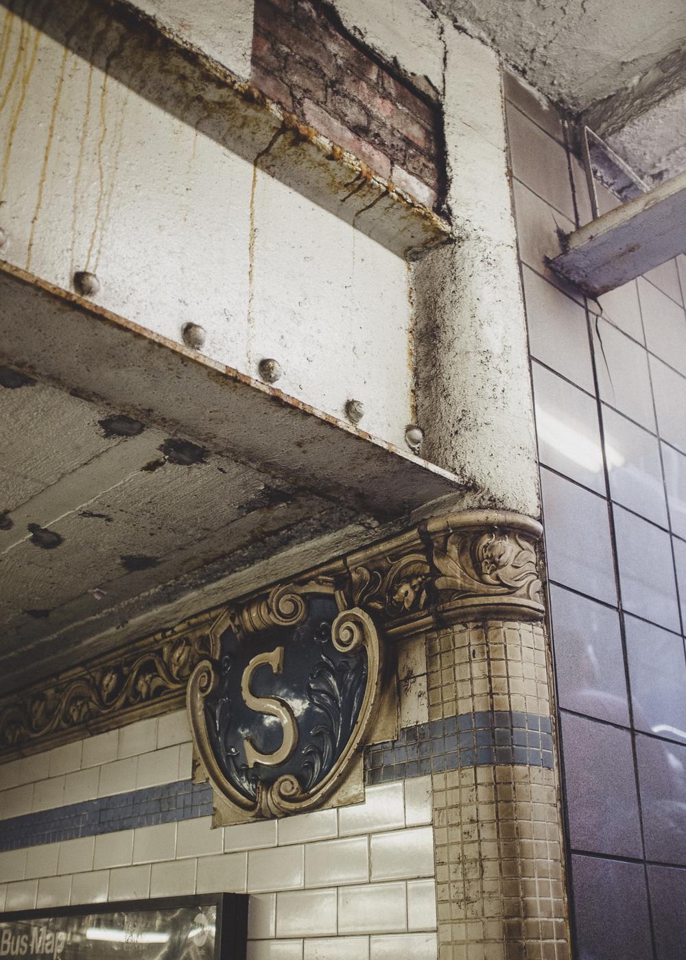 Spring Street Station, Manhattan;September 2014