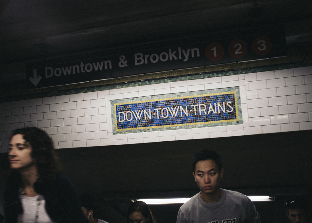Times Square Station, Manhattan; September 2014