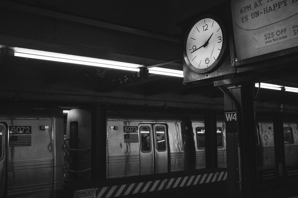 West 4th St - Washington Square Station; September 2014