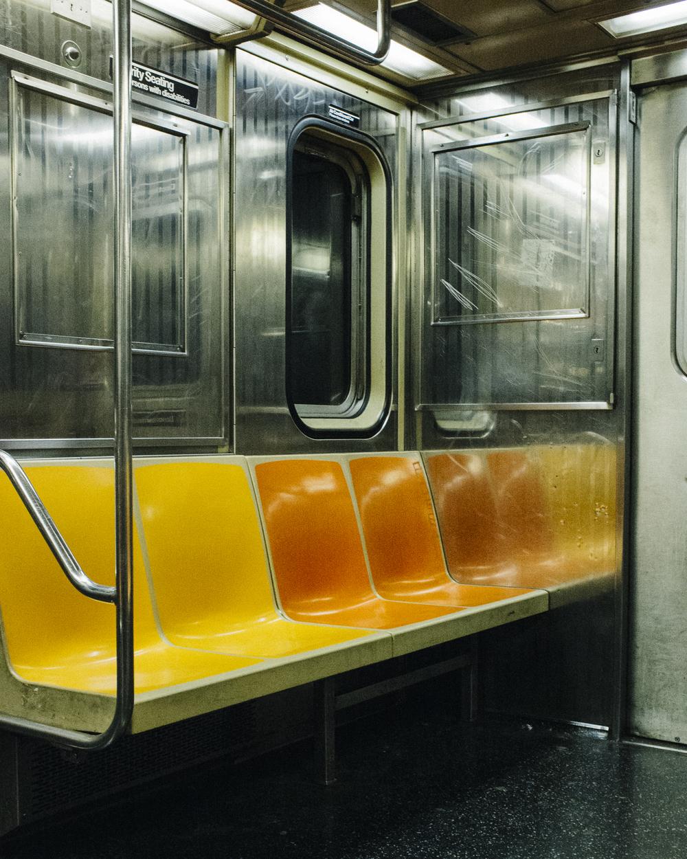C Train, Manhattan;  November 2014