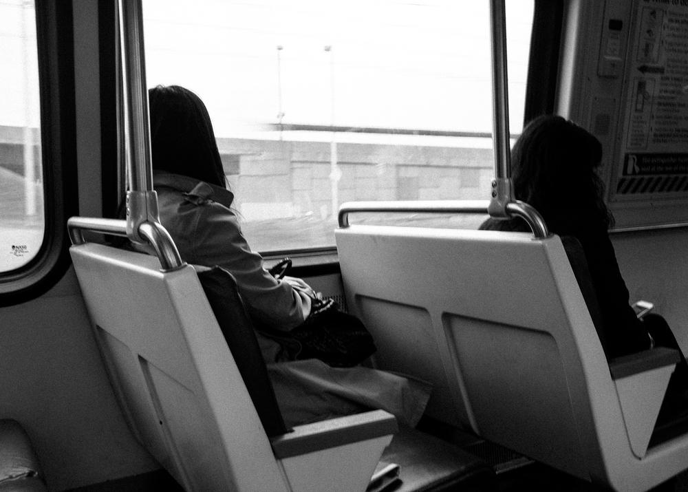 Yellow Line, Metro, Washington DC; May 2015