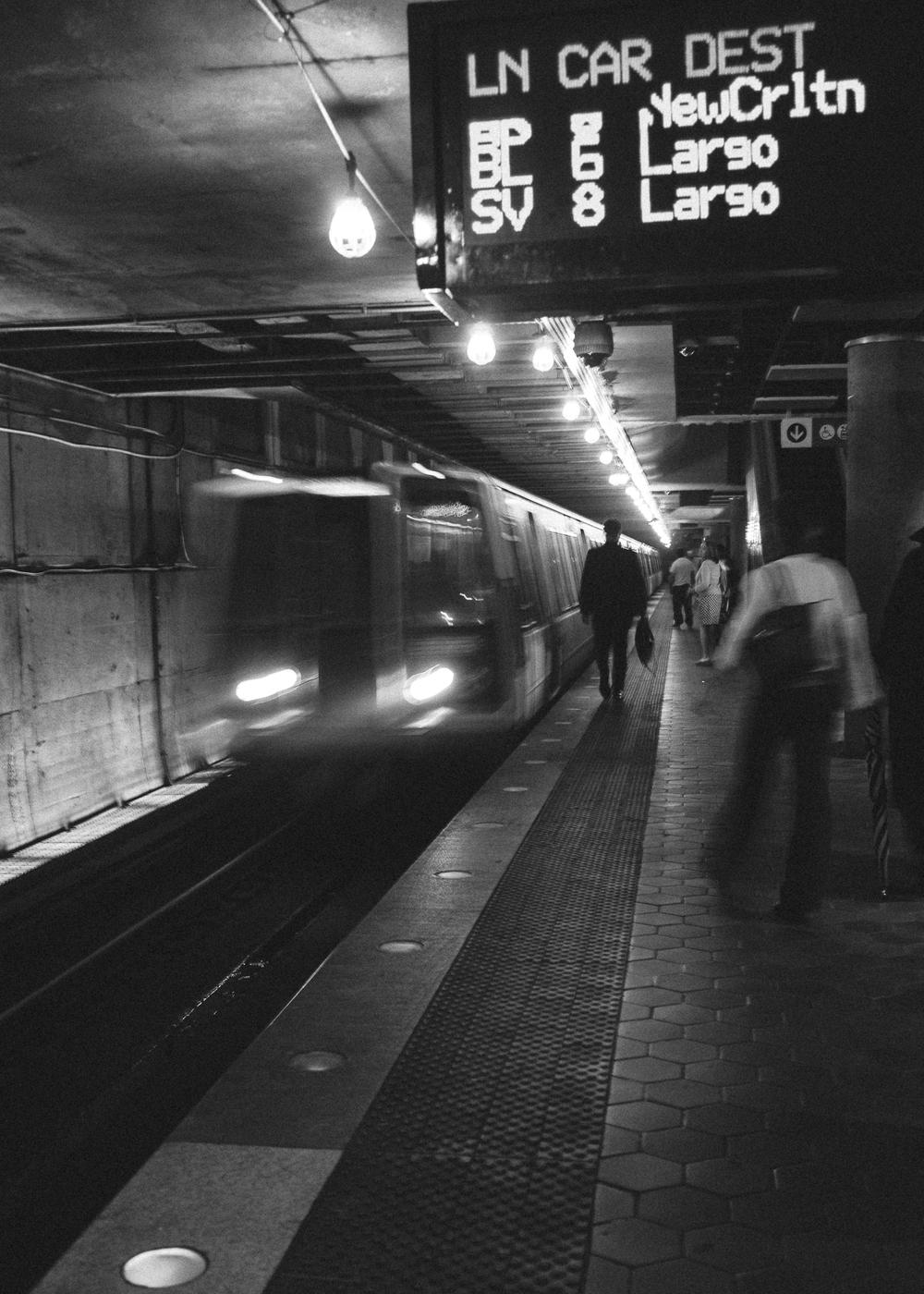 L'Enfant Square Metro Station, Washington DC;May 2015