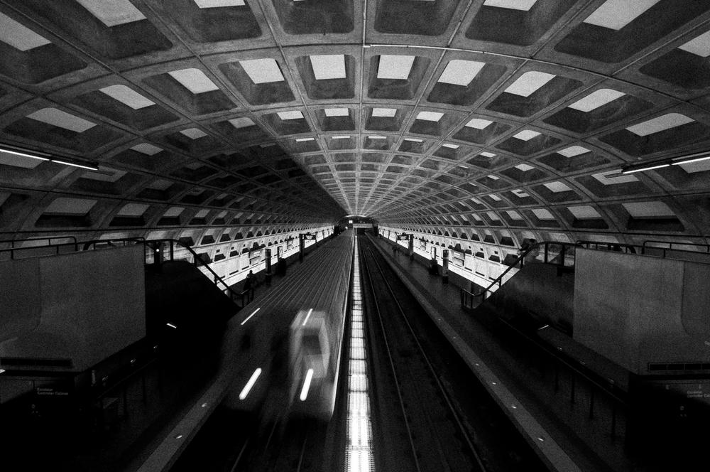 Judiciary Square Metro Station, Washington DC;May 2015