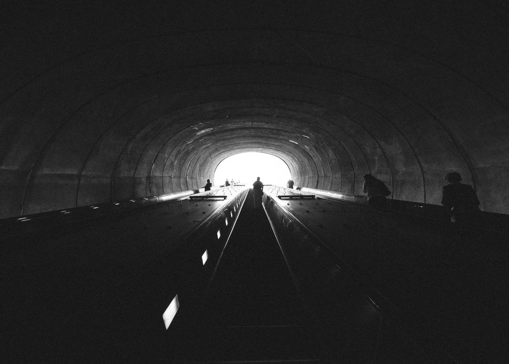 DuPont Circle Station, Washington, DC; May 2015
