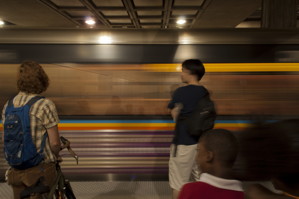 Five Points MARTA Station, Atlanta; June 2013