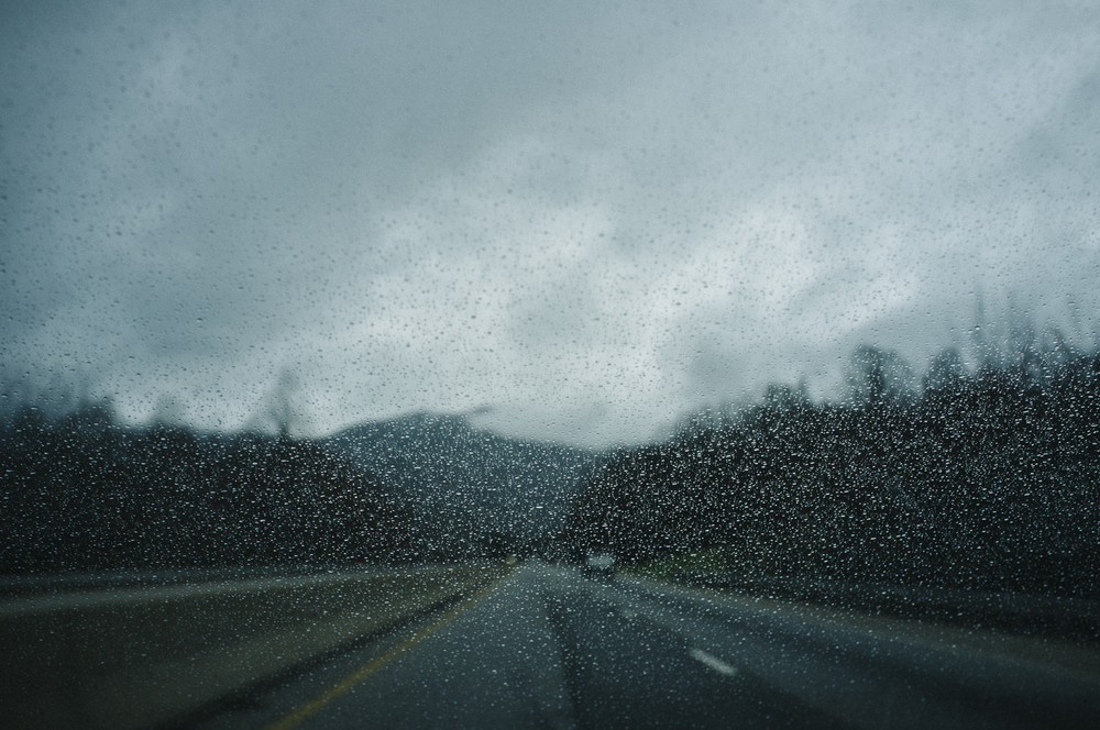 Interstate 26, NC;  March 2015