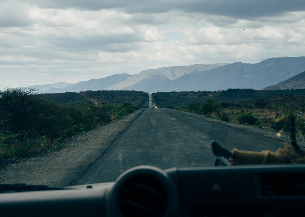 Pan-African Highway, Tanzania;  Nov 2015