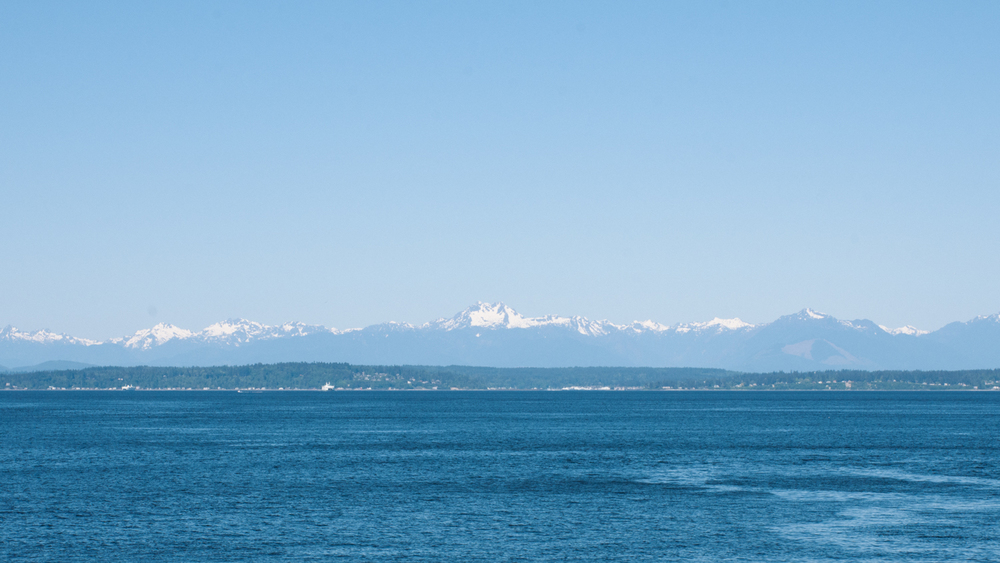 Puget Sound and the Olympic Mountains