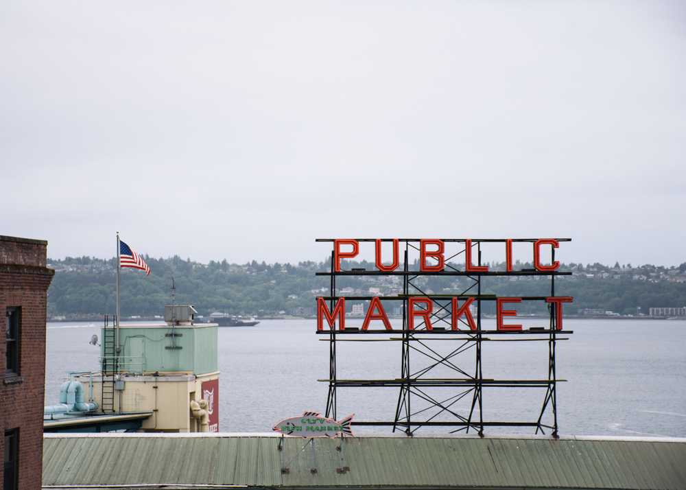 Pike's Place Market Signage (because... when in Rome)