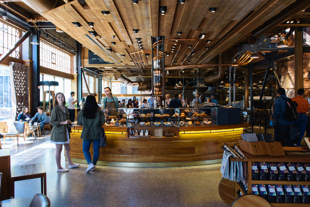 Starbucks Reserve Roastery & Tasting Room, Capitol Hill