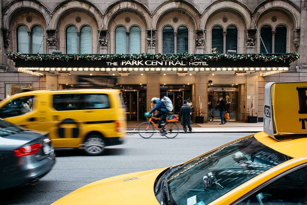 Park Central Hotel, Midtown, Manhattan