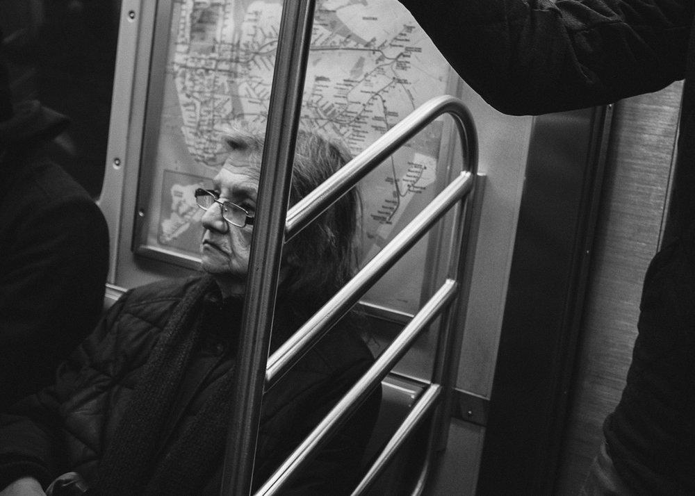 Manhattan Bound L Train
