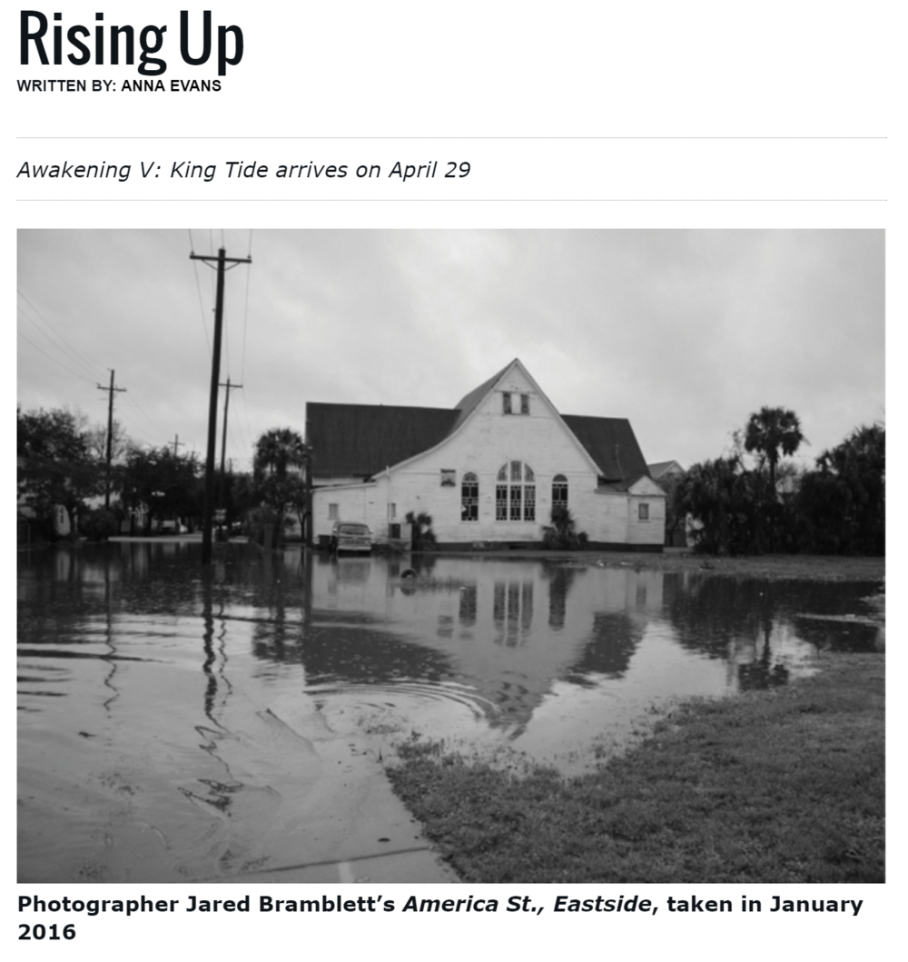 Charleston Magazine coverage of Awakening V.