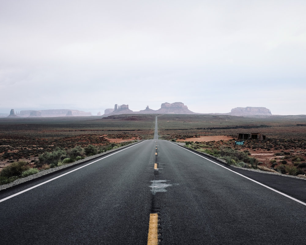 US Highway 163, Into Monument Valley