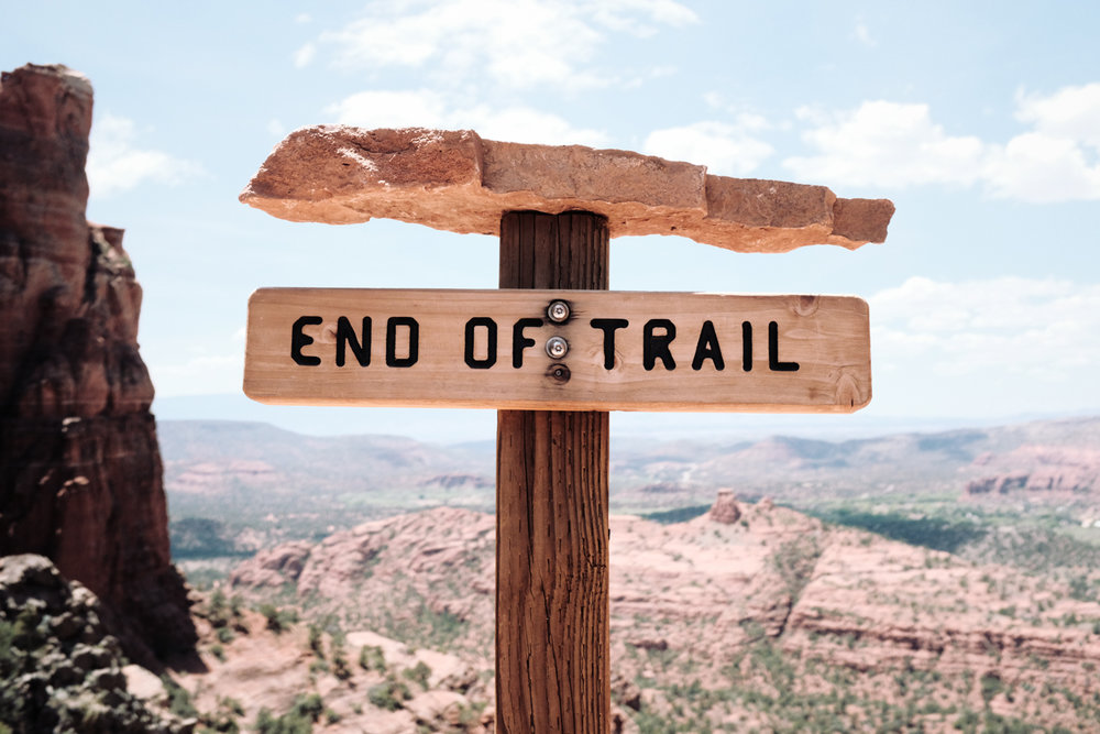 End of Trail, Cathedral Rock