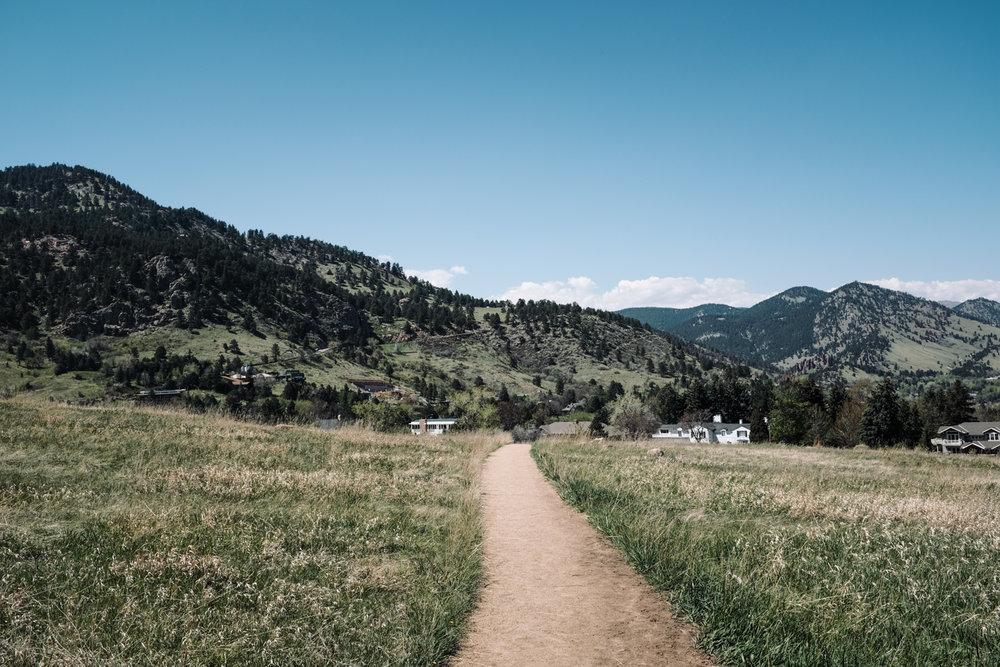 Day 1 - Chautauqua Park, Boulder