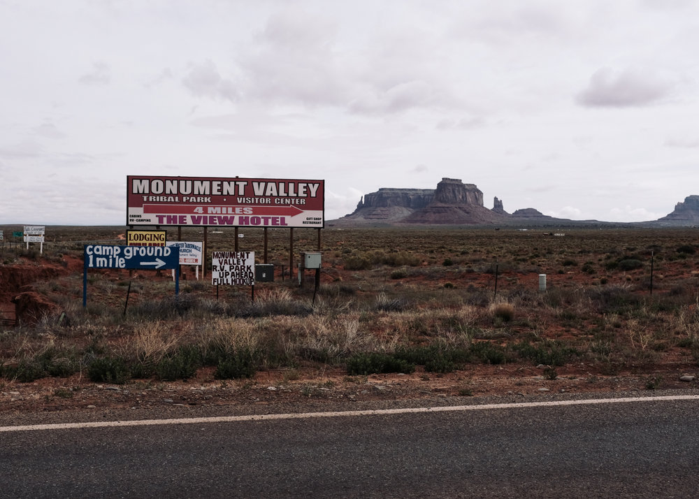 Day 6 - Monument Valley Road, Navajo Nation (Utah)