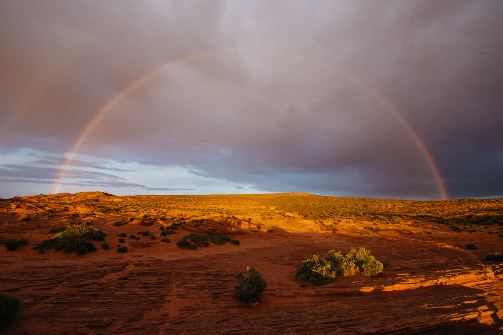 Day 6 - Horseshoe Bend, Navajo Nation (Page, Arizona)