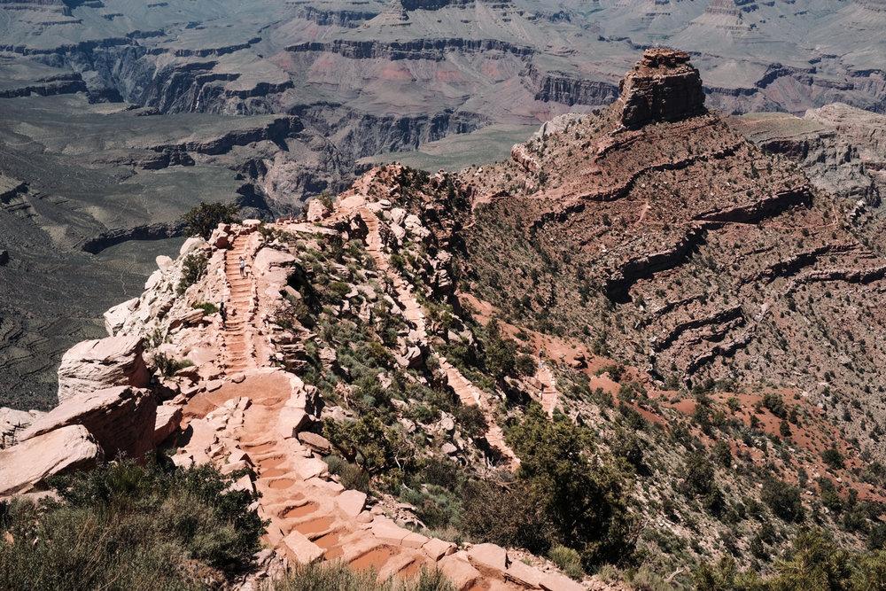 Day 7 - South Kaibab Trail, Grand Canyon South Rim, Arizona