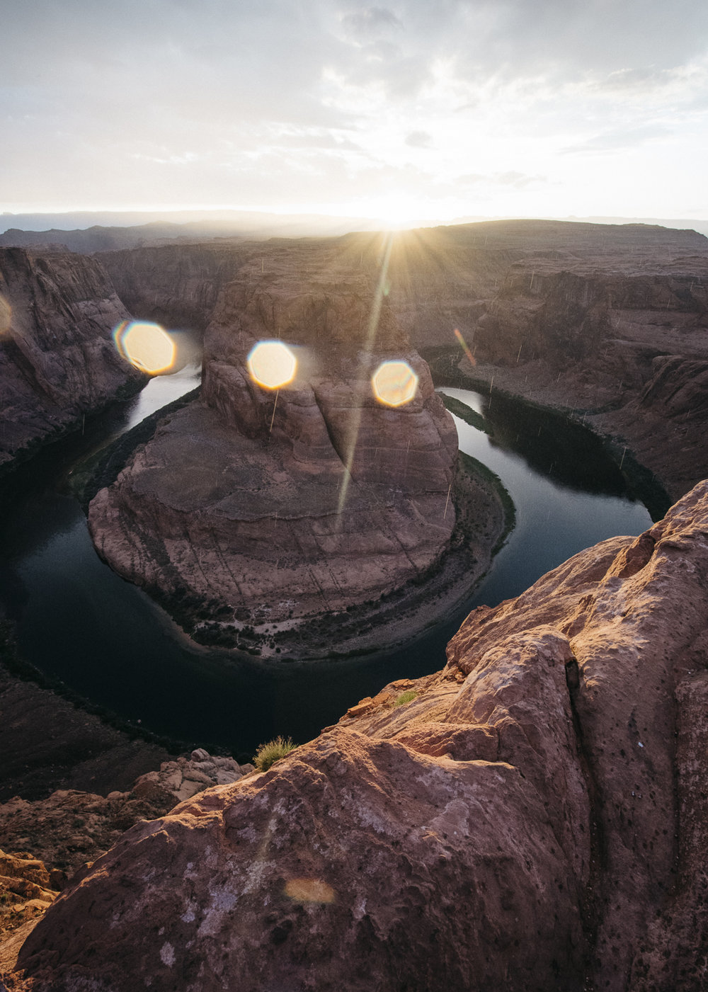 Horseshoe Bend, Page, Arizona;  May 2017