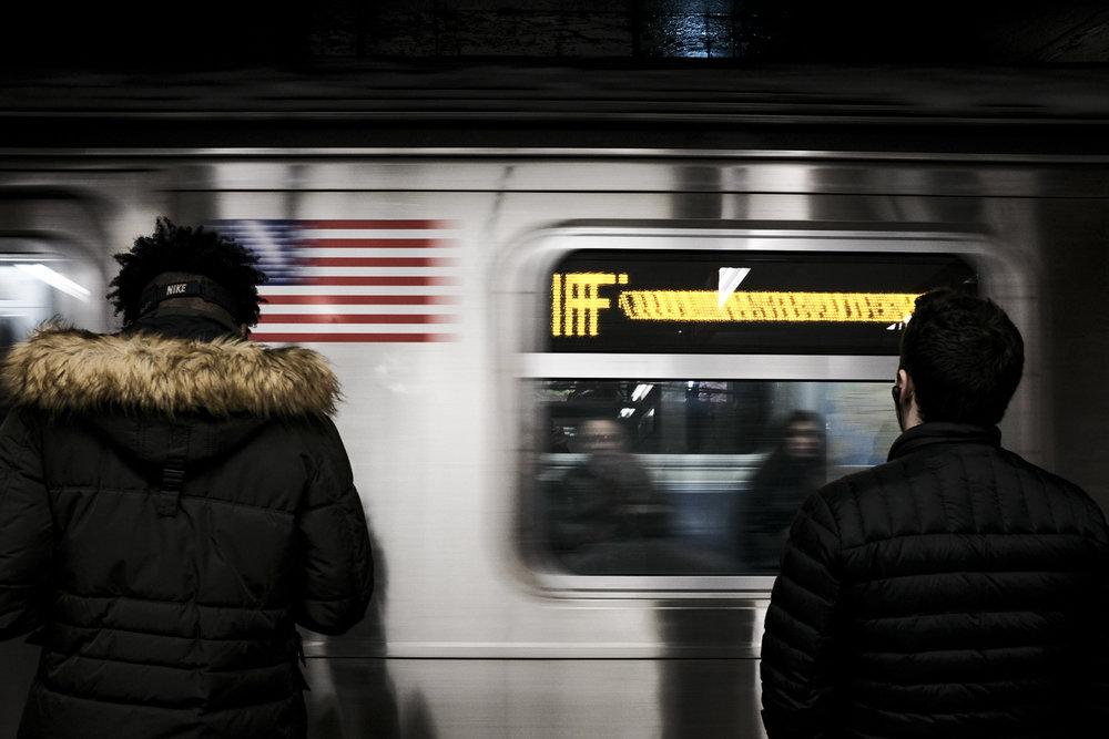 Delancey St-Essex St Platform, Manhattan