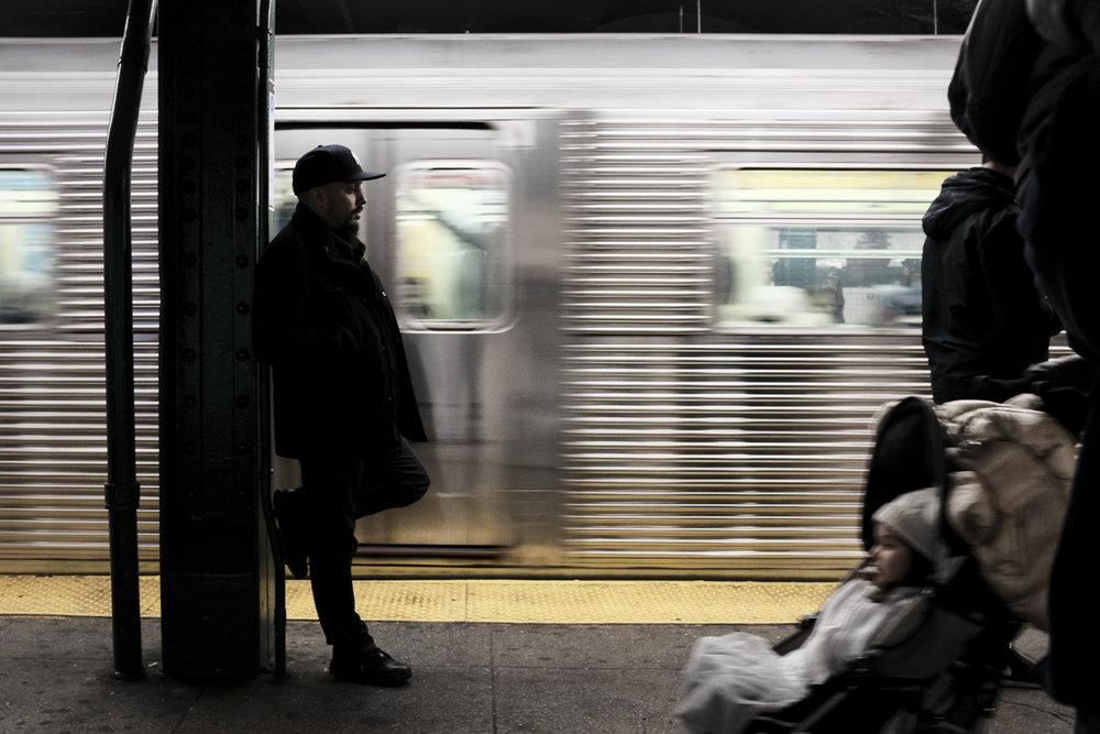 125 St Platform, Harlem