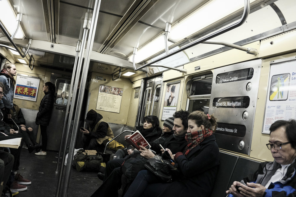 J Train, Manhattan
