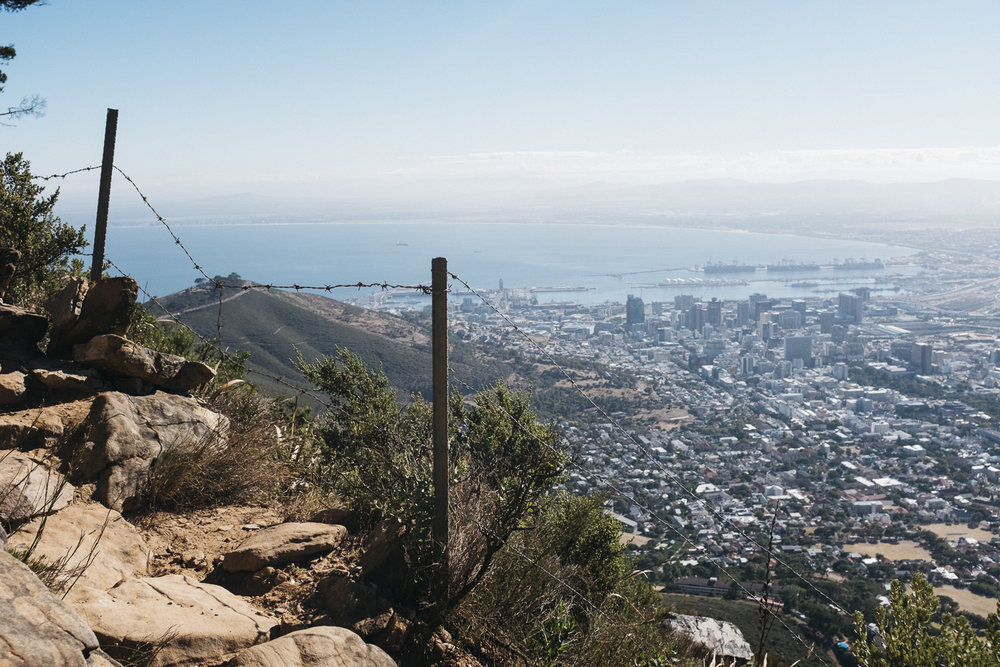 Cape Town Skyline from Lions Head