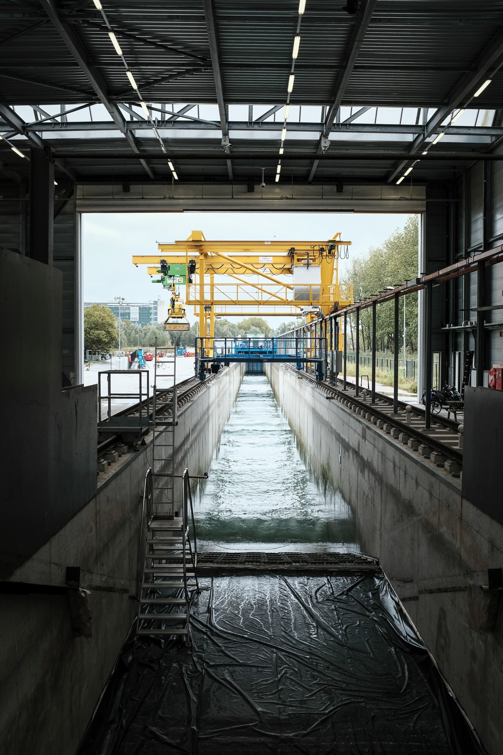 Deltares' 1/2-Scale Testing Flume