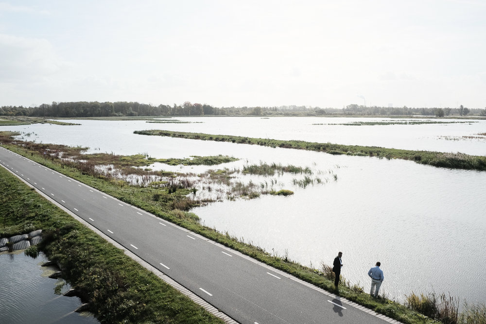 Roadway Embankment, Noordwaard Polder Project