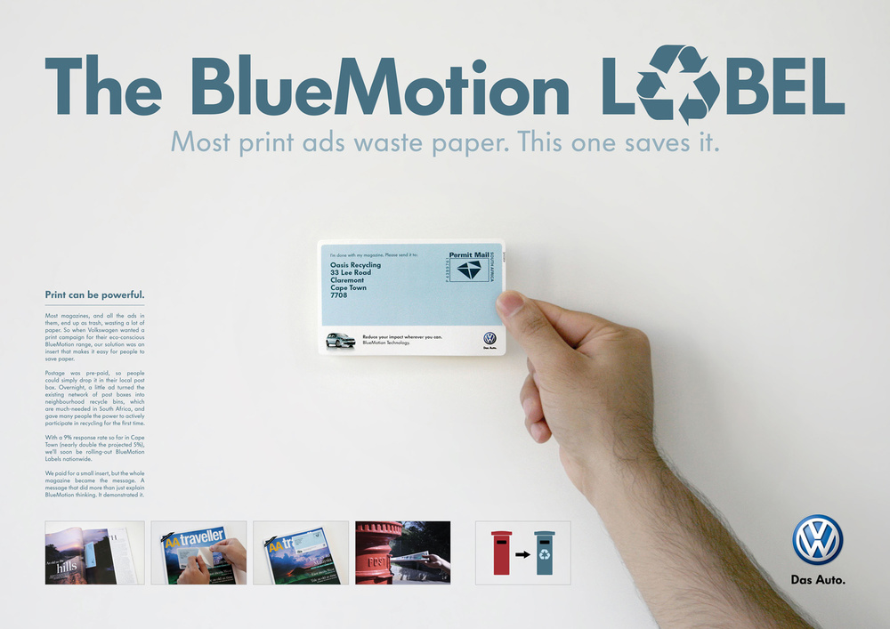 The BlueMotion label