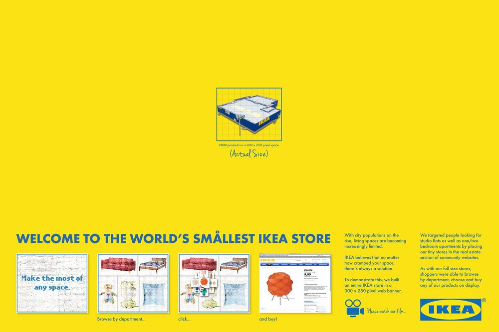 OgilvyAction Dubai wins a Silver Cyber Lion with The Smallest Ikea Store in the World