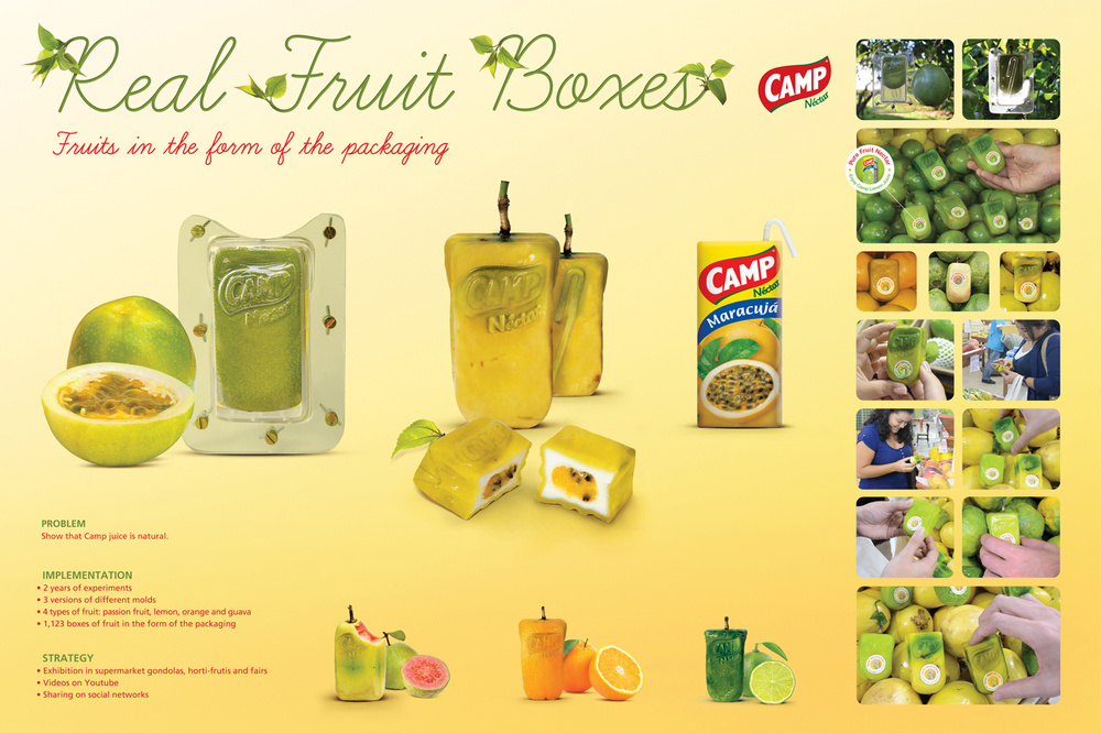 No kiddin': real fruit packaging