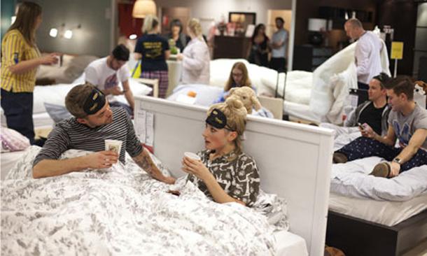 Ikea sleepover u2014 activation ideas