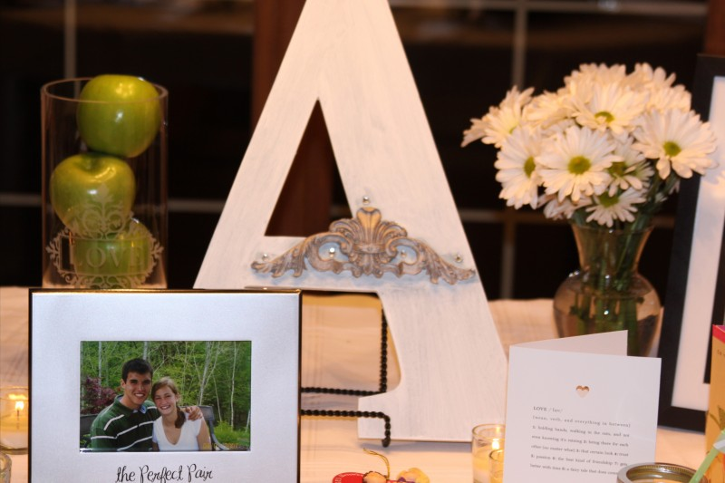 Engagement Party Centerpiece