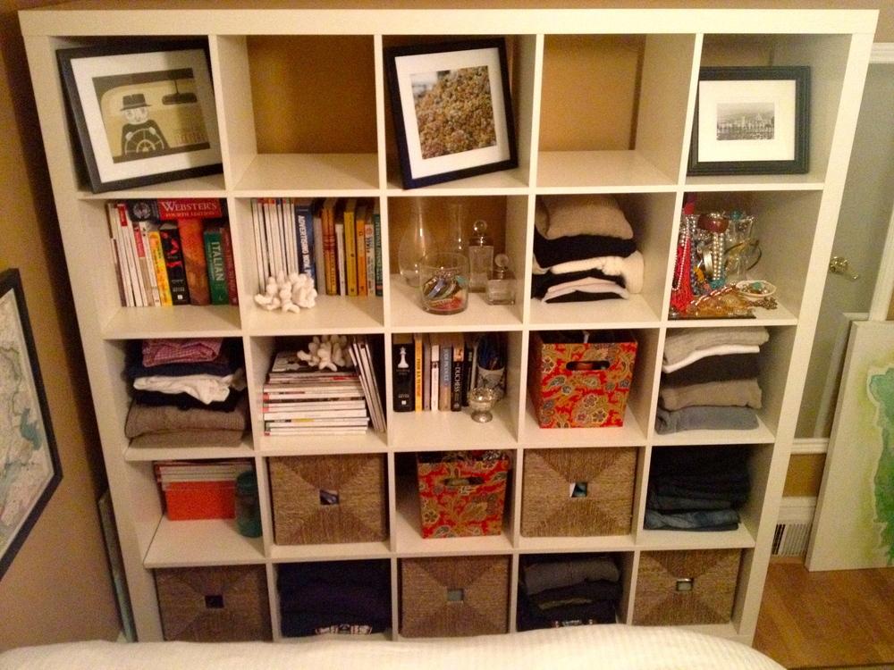 Ikea Bookshelf Design and Decor