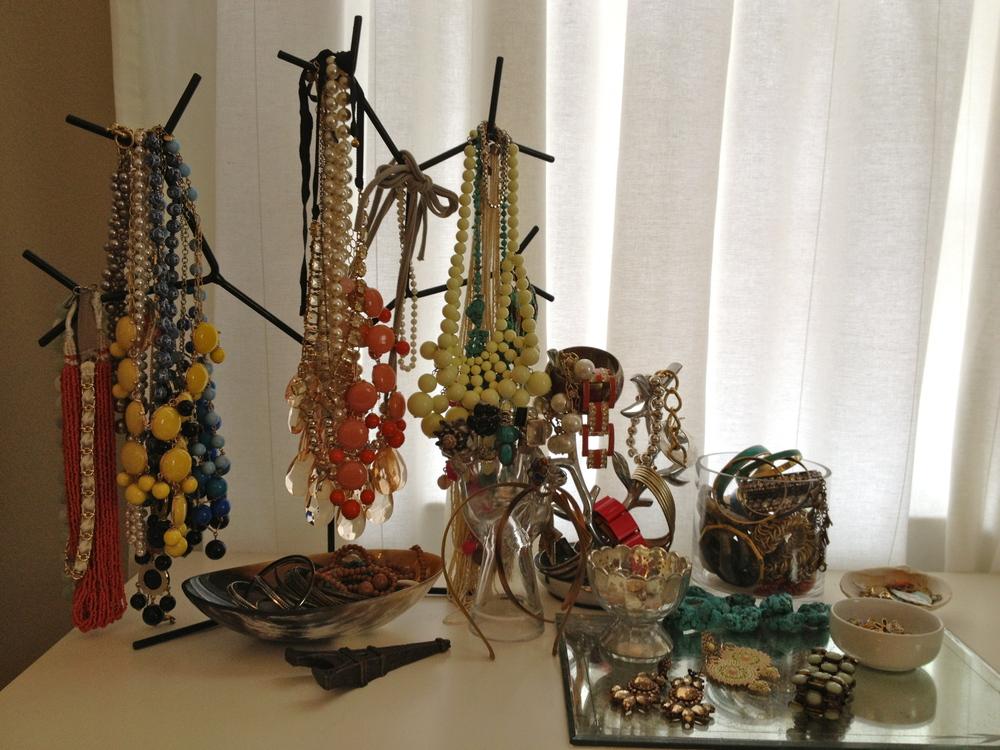Using Jewelry as Interior Decor