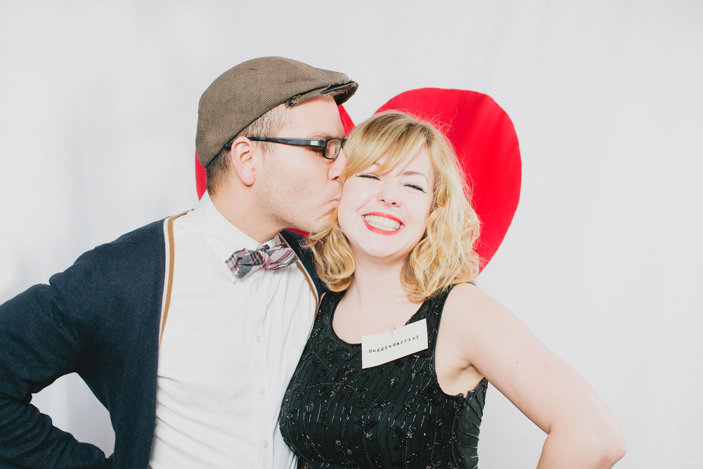 Heart Photo Booth Inspiration; Event planning by Washington DC event planner Liz Eggleston