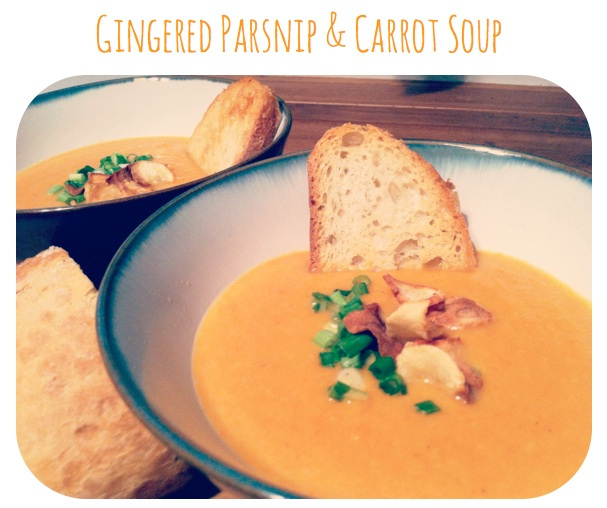 Ginger Parsnip & Carrot Soup Event Menu Ideas - Washington DC Event Planner