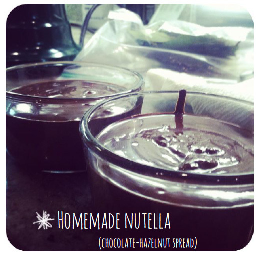 Homemade Nutella - Party Menu Ideas - Washington DC Party Planner