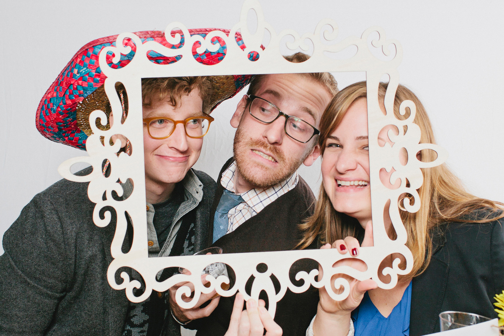 Ornate frame Photo Booth prop inspiration; Event planning by Washington DC event planner Liz Eggleston